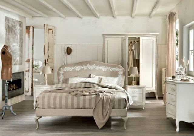 schlafzimmer im shabby chic wohnstil | möbelideen, Badezimmer