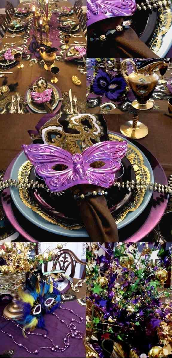 Faschingsdeko fr Zuhause  Tolle Karneval Ideen zum