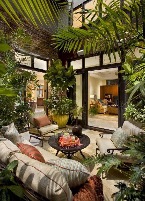 sichtschutz balkon bast - terrasseenbois, Terrassen ideen