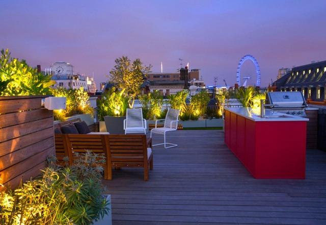 stunning moderne dachterrasse gestalten ein gruner zufluchtsort, Terrassen ideen