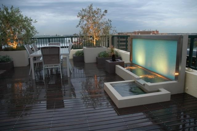 Die umweltfreundliche Gestaltung der Dachterrasse