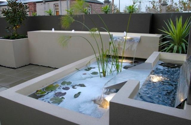 Terrassengestaltung mit wasserbecken  kunstfelsen kunstfelsengrotte egli gartenbau ag. die 48 besten ...