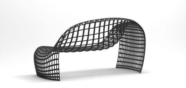 Design Ledersofa Loveseat von David Bothe vereint Komfort mit sthetik