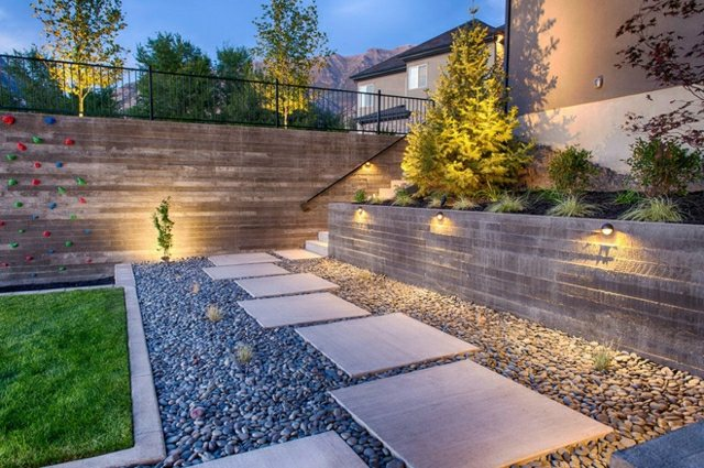 garten terrasse gestalten hanggarten anlegen und terrasse,