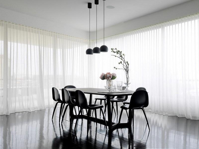 34 Ideen fr Gardinen  Fensterdeko Sicht und Sonnenschutz