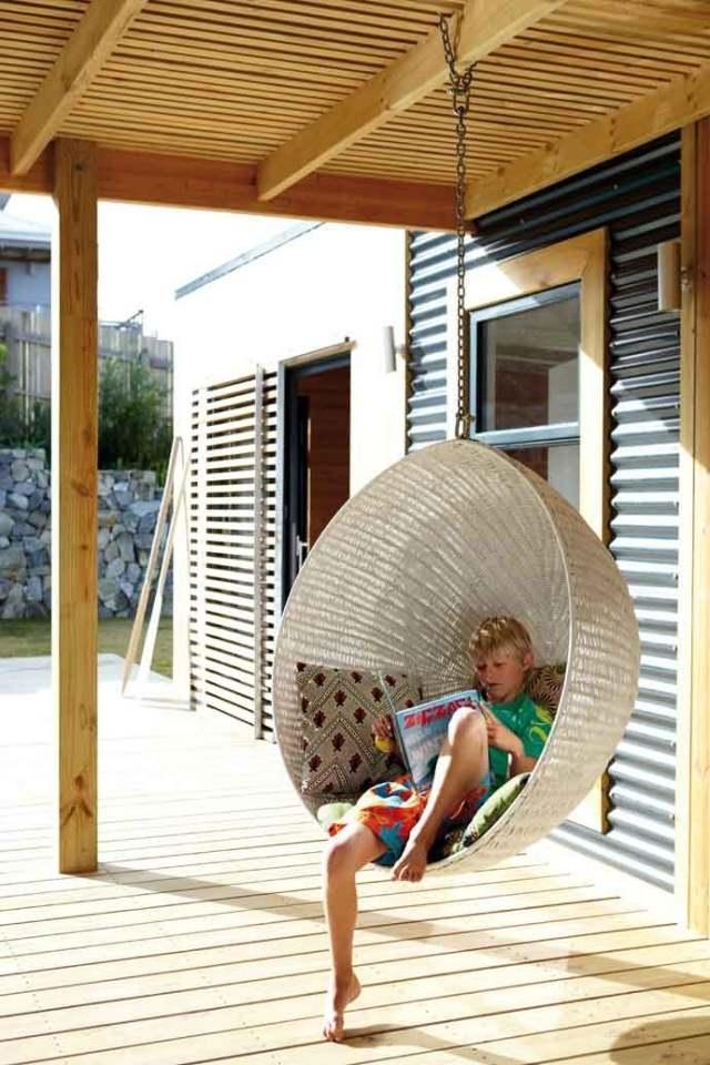 Ideen Garten Terrasse Garten Moderne Mobel Rattan Polyrattan