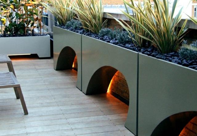 moderne dachterrasse gestalten ein gruner zufluchtsort grosstadt, Terrassen ideen