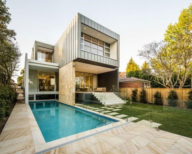 modernes haus mit pool und garten performal garten und bauen, Garten und erstellen