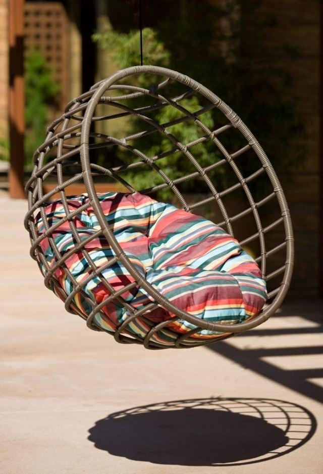 swing egg chair painted wood ideas 55 hängesessel ideen für garten, pool und haus, die idylle sorgen