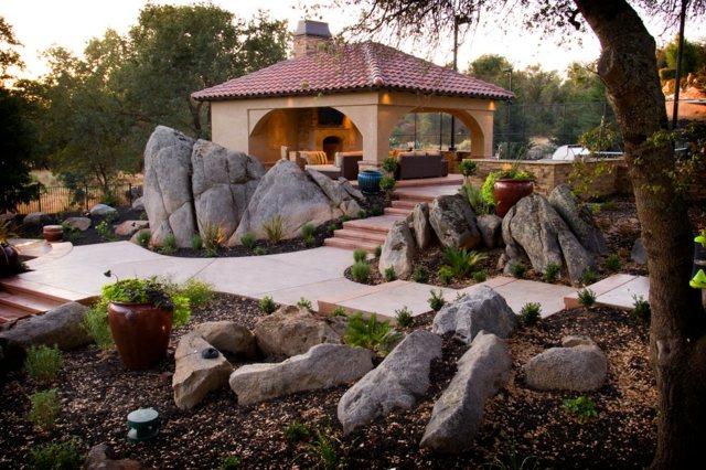 Steingarten anlegen  25 hervorragende Beispiele fr Gartengestaltung