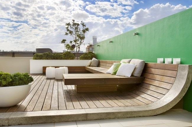 beautiful moderne dachterrasse gestalten ein gruner zufluchtsort ...