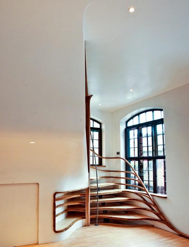 holz treppe design atmos studio, treppen modern holz. treppen. moderne treppe design holz wohnzimmer, Design ideen