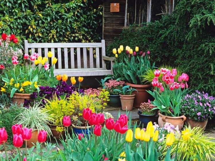 Gartenarbeit Gartengestaltung Der Garten Im Fruhling | Besteideen ... Gartenarbeit Gartengestaltung Der Garten Im Fruhling