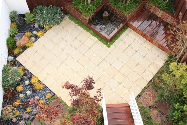 gartengestaltung pflege terrassen garten terrasse anlegen ideen, Terrassen deko