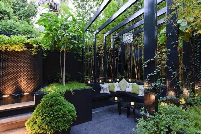 moderne garten sichtschutz | mojekop, Garten und erstellen
