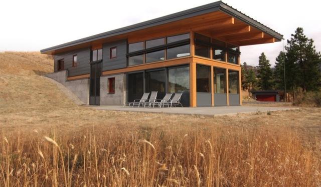 Haus Mit Flachdach Trendige Dachkonstruktion Mit Langer