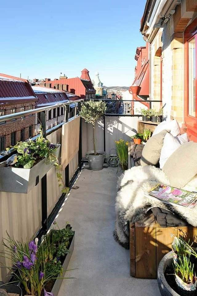 S Gartengestaltung Pflege Balkon Sichtschutz Mit Balkonbespannung Coole Ideen L