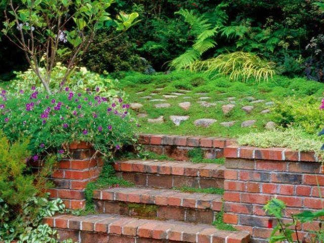 mit backsteinen garten gestalten | sichtschutz, Garten und Bauten