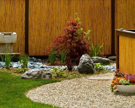 34 Ideen fr Sichtschutz im Garten mit Bambus
