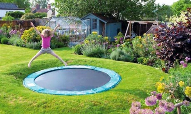 Gartengestaltung Ideen Schwimmbad Klein Mitte Garten Madchen