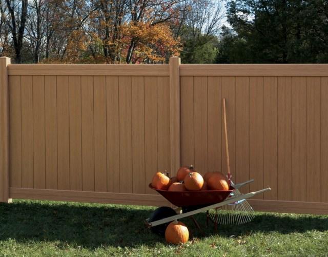 ist der sichtschutzzaun aus kunststoff gute alternative zum, Terrassen ideen