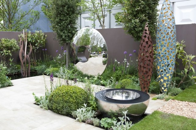 Deko fr Garten  der geheimnissvolle Charme der modernen