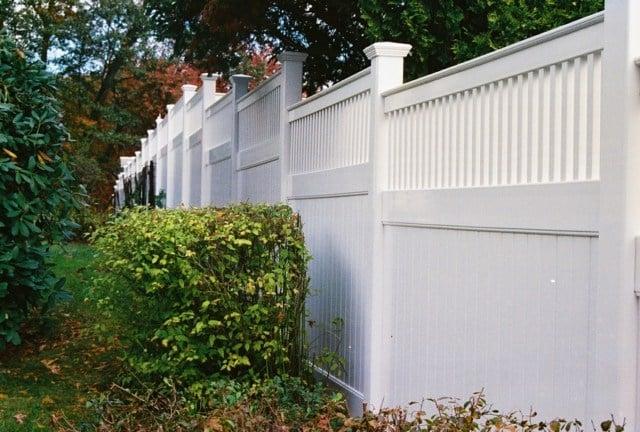 Gartengestaltung Pflege Terrassen Sichtschutzzaun Au Kunststoff ... Sichtschutzzaun Aus Kunststoff Gute Alternative Holzzaun