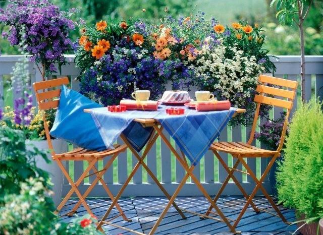 Sichtschutz Aus Holz Fur Balkon | Moregs Wind Und Sichtschutz Fur Balkon Mit Blumen Und Kletterpflanzen