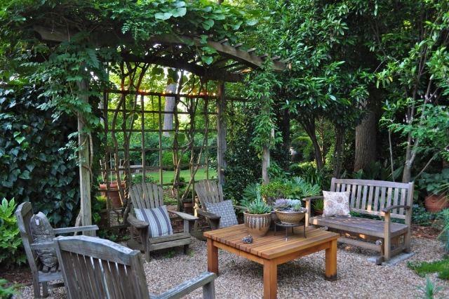 terrassen sichtschutz mit pflanzen neugierige blicke fernhalten,