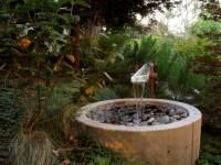 Brunnen und Wasserspiele im Garten selber bauen - 70 Bilder