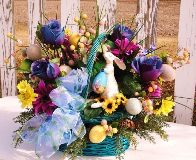 Blumendeko zu Ostern  28 Ideen fr Blumenstrue und Gestecke