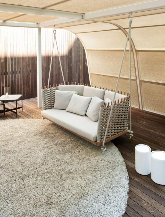 Designer Hollywoodschaukeln fr Garten und Terrasse