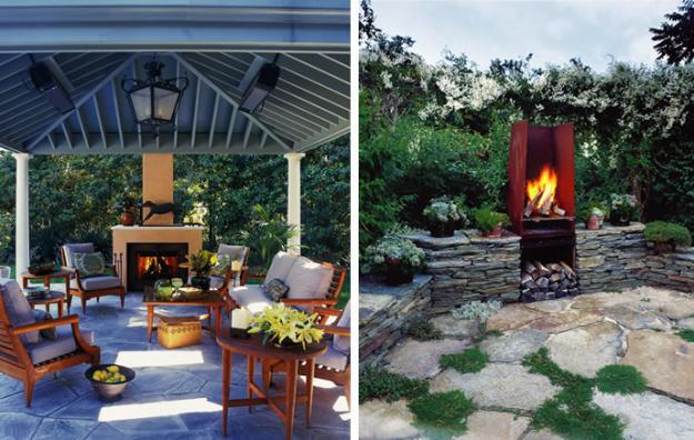 Best Gartenkamin Bauen Ideen Terrasse Pictures - Amazing Home Ideas ...