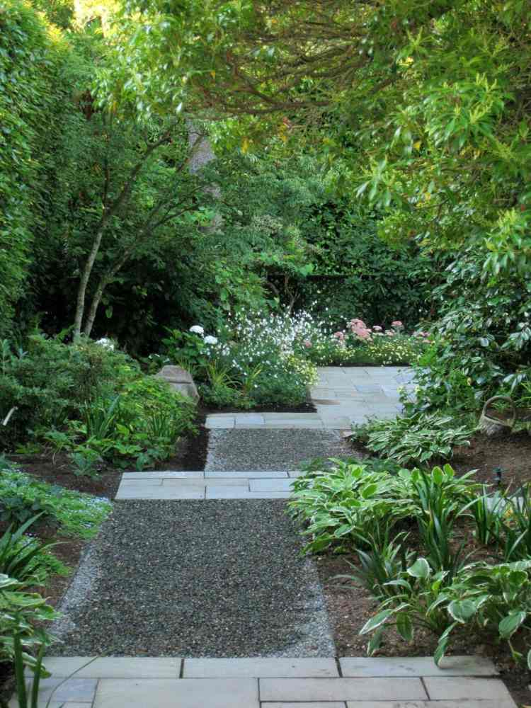 Gartenwege anlegen  16 Ideen fr schne Gartengestaltung