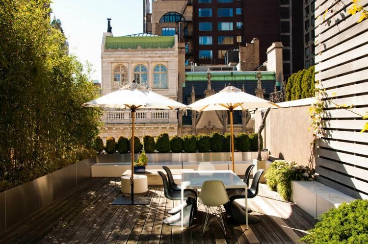 Gestaltungsideen fr Balkon  Dachterrasse  25 coole Ideen