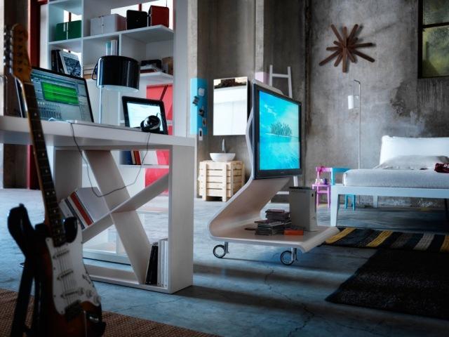 Ausgefallene Wohnzimmer Mbel  Der LCD TVStnder von