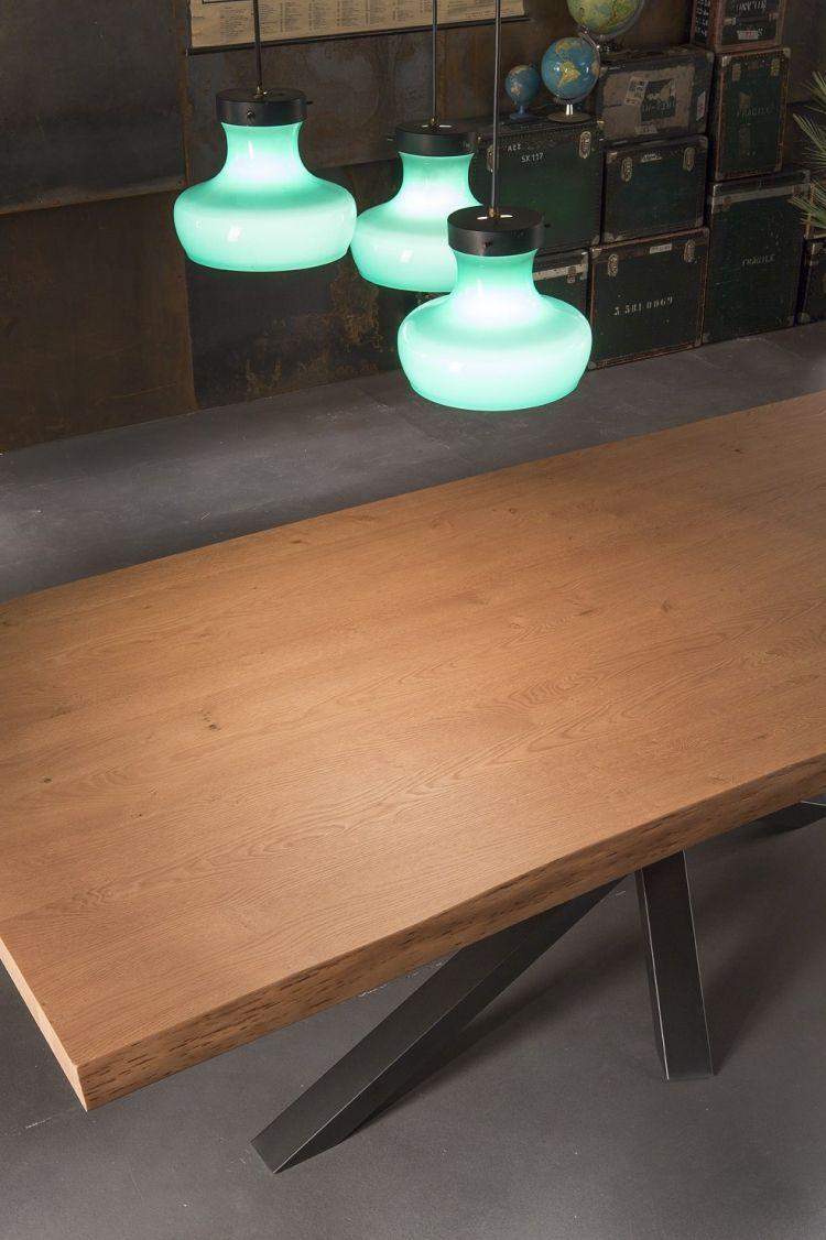 Moderner Esstisch Holz Stahl | Möbelideen