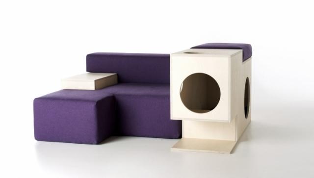 Modernes Sessel Design  Komfort fr Sie und Spielplatz fr Haustiere