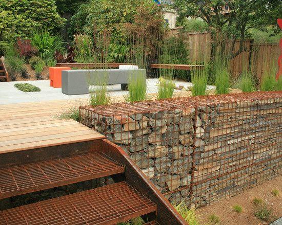 steine fur gartenmauer stutzmauer bau - boisholz, Garten seite