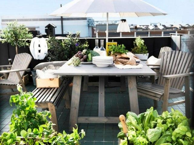 Terrassen dekorieren: garten amp terrasse möbel für draußen und ...