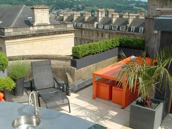 Modernes Gartendesign Lässt Ihre Dachterrasse Gemütlich Aussehen