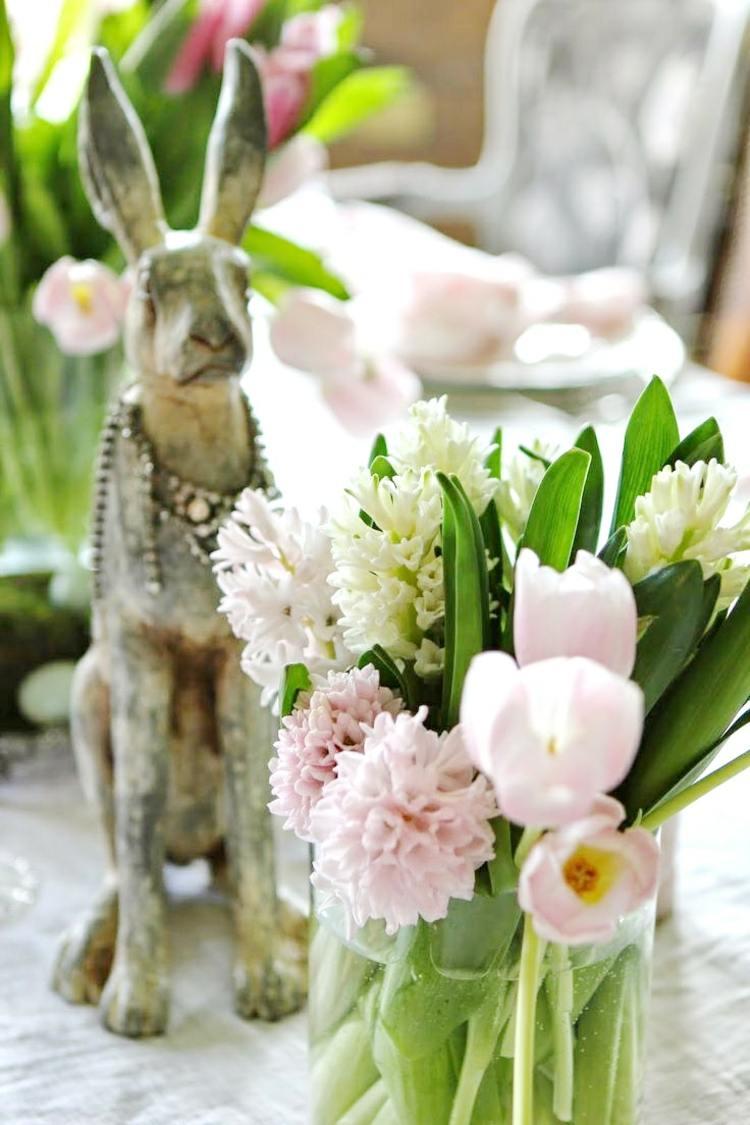 Festliche Tischdeko fr Ostern selber machen  27 Ideen