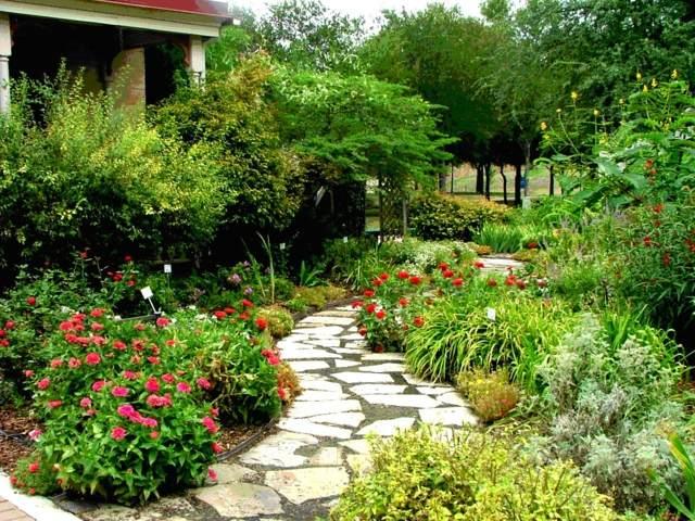 garten gestaltung rasenflache mehrjahrige blumen kombiniren hobby, Garten und erstellen