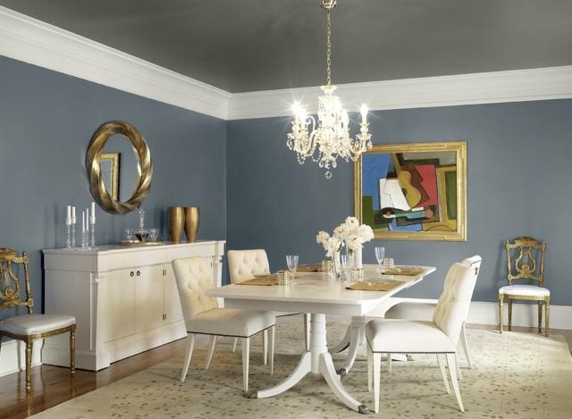 color schemes for living rooms with dark brown furniture painting room white 24 wandfarbe ideen, die frühlingsstimmung im haus bringen