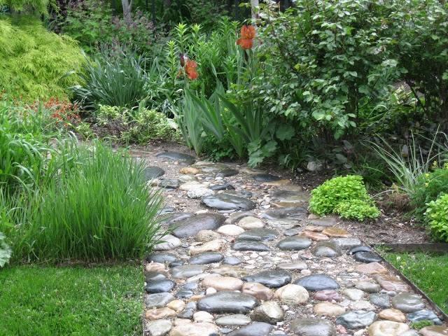 patio garten ideen pergola rund gartenmobel bunte pflanzen - boisholz, Garten und erstellen