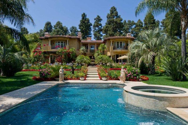 Passende Garten mit Pool Gestaltung