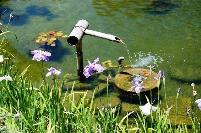 gartenteich wasserspiele selber bauen - boisholz, Garten ideen