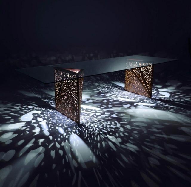 Mbel aus Holz  eine von der OrigamiKunst inspirierte Kollektion