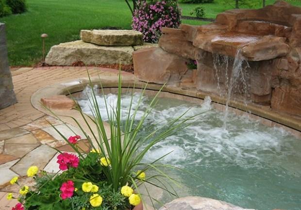 gartengestaltung pflege andschaftsbau wasserspiele im garten, Garten dekoo
