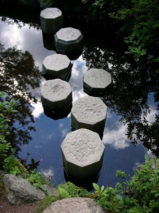 rasen garten steinweg selber anlegen trittsteine - boisholz, Garten und erstellen